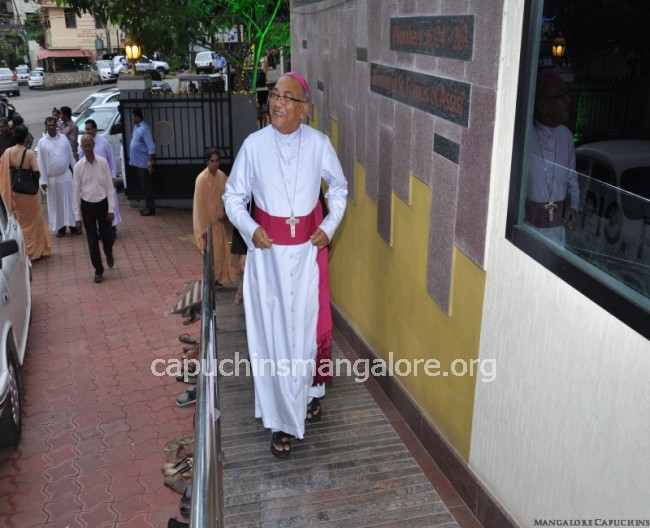 Capuchins Mangalore - Feast of Our Lady of Angels of Portiuncula